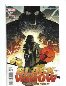 Marvel Comics Black Widow #5 SEP 2016 NM   nw147