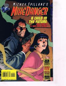 Lot of 2 MikeDanger DC Comic Books # 1 2 Super Heroes AD40