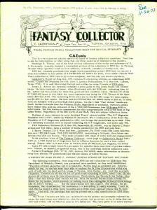 Fantasy Collector #176 1973-Caz-early comic buying/selling resource-pulps-VG