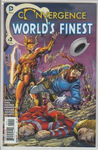 CONVERGENCE WORLD'S FINEST #2 - 2015 DC - NM