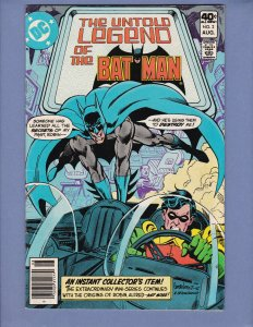 Untold Legends of Batman #2 FN Robin DC 1980