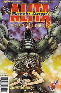 Battle Angel Alita Part 8 #5 VF/NM; Viz | save on shipping - details inside