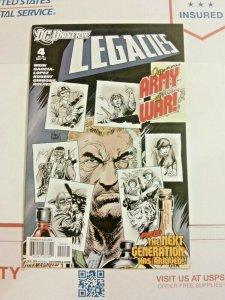Legacies 4 Joe Kubert Sgt. Rock Variant Cover Very Hard To Find DC Universe