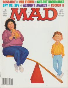 MAD MAGAZINE #287 - HUMOR COMIC MAGAZINE