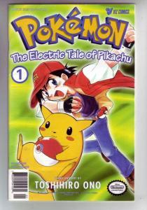 Pokemon #1 (Nov-98) VF/NM+ High-Grade Picachu, Pokemon