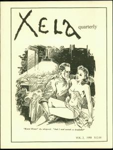 Xela Quarterly Fanzine #2 1998- Signed 340/500- Schomburg VF