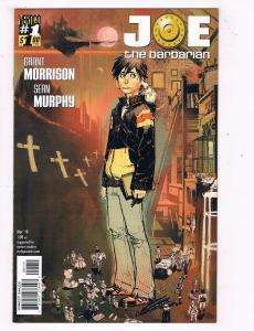 Joe The Barbarian #1 VF DC Vertigo Comics Comic Book Morrison Mar 2010 DE46