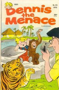 Dennis the Menace (1953 series) #141, VG- (Stock photo)
