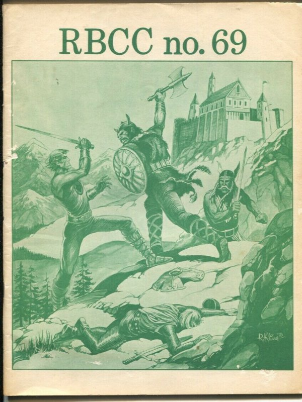 Rockets Blast Comicollector #69 1970-Robert Kline-buy-sell ads-Russ Cochran-VG+