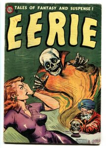EERIE #17-Headlight cover-Skull-Pre-code horror - VG-
