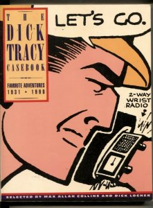 The Dick Tracy Casebook Favorite Adventures 1931-1990 paperback