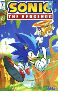 Sonic the Hedgehog (IDW) #1A VF/NM; IDW | save on shipping - details inside