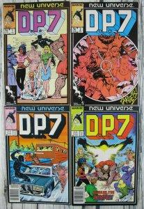 DP 7 New Universe Marvel 1986 Comic Lot #1 2 3 4 5 6 11 12 13 14 15 16 17 18 VF
