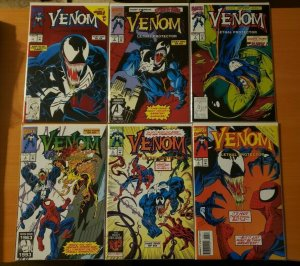 Venom Lethal Protector 1-6 Complete Set Run! ~ NEAR MINT NM ~ 1993 Marvel Comics