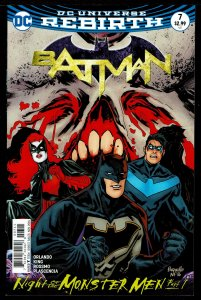 Batman #7 Rebirth (Nov 2016, DC) 0 8.0 VF