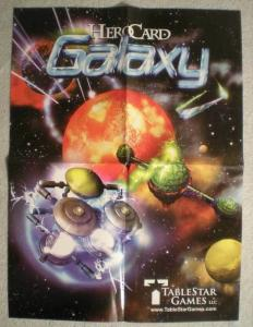 HEROCARD GALAXY Promo Poster, Shogun, 15x21, Unused, more Promos in store