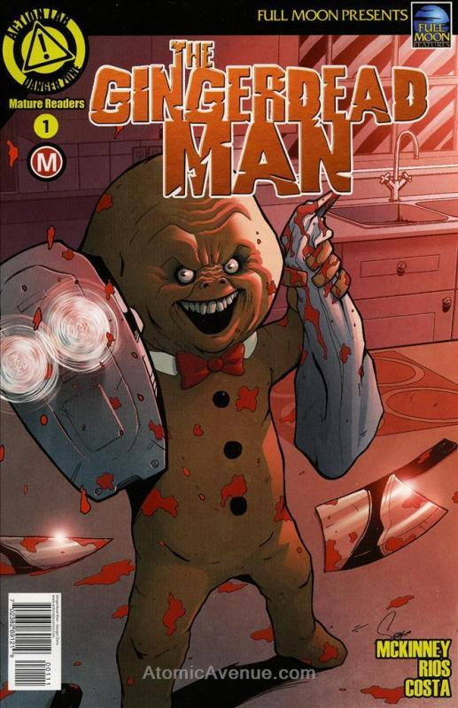 Gingerdead Man #1A VF; Action Lab | save on shipping - details inside