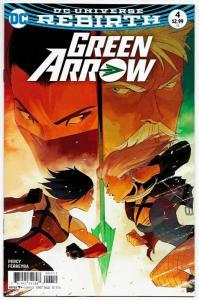 Green Arrow #4 Rebirth Main Cvr (DC, 2016) NM