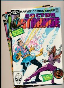 LOT of 4 Comics! Marvel DOCTOR STRANGE #48-51  F/VF (PF801)