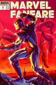 Marvel Fanfare (1982 series) #44, NM- (Stock photo)