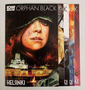 Orphan Black Helsinki #1-5 Set (IDW 2015) 1 2 3 4 5 Graeme Manson (9.0+)