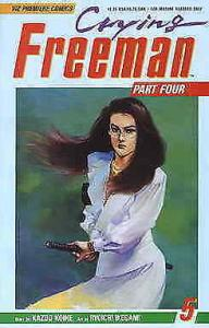 Crying Freeman Part 4 #5 VF/NM; Viz | save on shipping - details inside