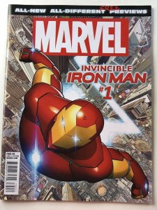 ALL NEW DIFFERENT MARVEL PREVIEWS INVINCIBLE IRON MAN GIVEAWAY PROMO