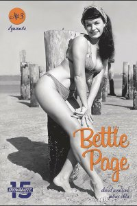 BETTIE PAGE UNBOUND (2019 DYNAMITE) #3 VARIANT CVR E PHOTO PRESALE-08/14