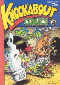 Knockabout Comics #3 FN; Knockabout | save on shipping - details inside