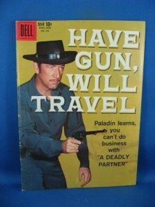 FC 983 F HAVE GUN WILL TRAVEL F RICHARD BOONE PALADIN DELL1959