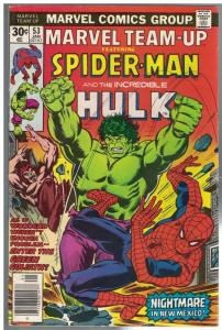 MARVEL TEAM UP 53 VG Jan. 1977