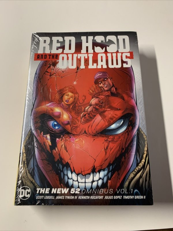 Red Hood And The Outlaws Omnibus Mint Sealed New 52 Dc Comics Hc Tpb