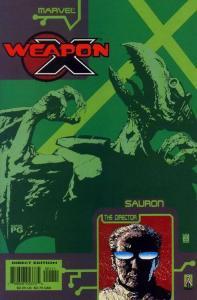 WEAPON X: SAURON (2002 MARVEL) #1 A78745