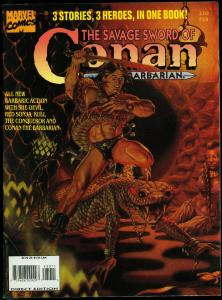 The Savage Sword of Conan #230 1995- Rare late issue- Marvel Magazine VF