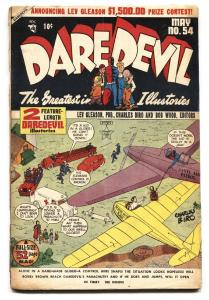 DAREDEVIL COMICS #54 1949-Airplane cover- Golden Age G/VG