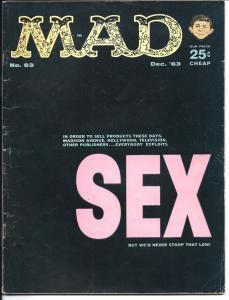 Mad No. 83, Dec, 1963 (GD+)