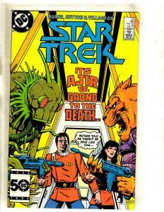 Star Trek # 25 VF/NM DC Comic Book SIGNED Diane Duane Space Opera Kirk J372