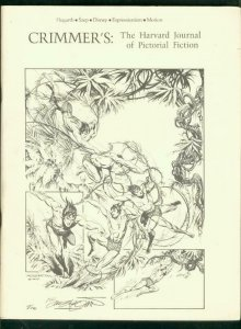 Crimmer's: The Harvard Journal Of Pictorial Fiction 1975-HOGARTH-TARZAN-DISNEY
