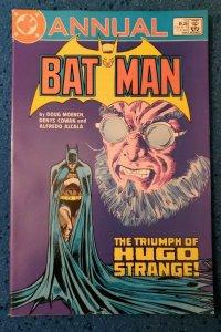 BATMAN Annual #9 THE TRIUMPH OF HUGO STRANGE - 1986 NM 9.4