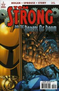 Tom Strong and the Robots of Doom #3 VF/NM; America's Best   save on shipping -