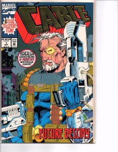 Marvel Comics Cable #1 NM Gold Foil Cover