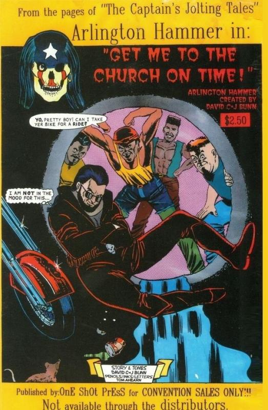 ARLINGTON HAMMER VAMPIRE SPECIAL GET ME TO THE CHURCH ON TIME ONE SHOT PRESS