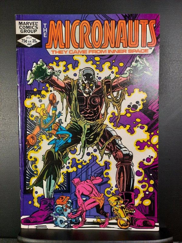 Micronauts #43 (1982)