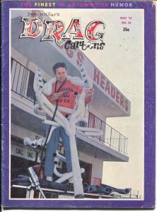 Drag Cartoons #39 1967-Millar-hot rod cartoons-Wonder Warthog-VG