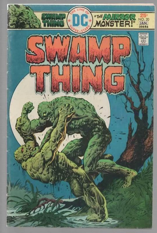 SWAMP THING 20 VG+ Jan. 1976