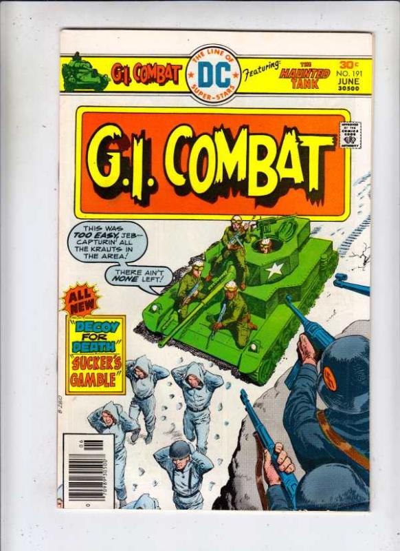 G.I. Combat #191 (Jun-76) VF/NM High-Grade The Haunted Tank