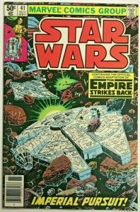 STAR WARS#41 VF 1980 EMPIRE STRIKES BACK MARVEL BRONZE AGE COMICS