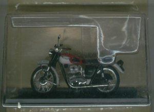 Figura coleccionismo motocicleta Triumph T120 Bonneville-1967