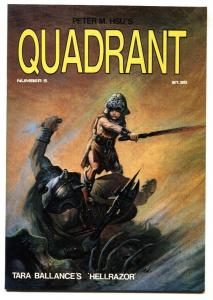 Quadrant #5  Hellrazor- Peter M Hsu 1985  NM-