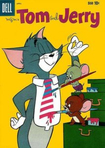 Tom and Jerry #189, Good+ (Stock photo)